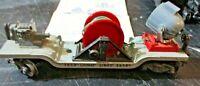 LIONEL No. 3650 SEARCHLIGHT EXTENSION CAR scala 0 anni 50 originale funzionante