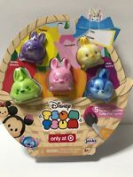 New Disney Tsum Tsum Exclusive Tsparkle Tsurprise Color Pop 5 Pack Large Easter
