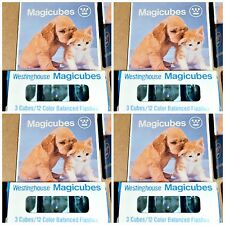 NOS Westinghouse Flash Cubes MAGICUBES Vintage 4 NEW BOXES 4x3 For Type X Camera