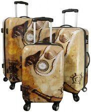 Betz Set di 3 valigie con la serratura TSA  motivo NASSAU