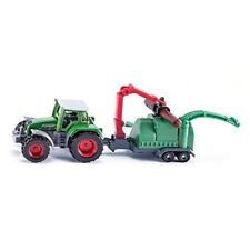 Tractor With Wood Chippers - Chipper Siku 187 Scale