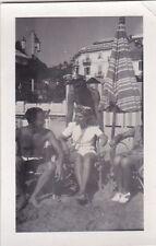 ANNI '30 VERA FOTO DI ALASSIO HOTEL CONCORDIA PIAZZA PARTIGIANI 13-44B