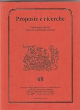 Storia Locale Economia e società nella storia dell'Italia centrale n. 68