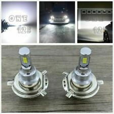 H4 9003 HB2 6000k SUPER WHITE CSP LED Headlights Bulbs Kit High Low Beam Canbus