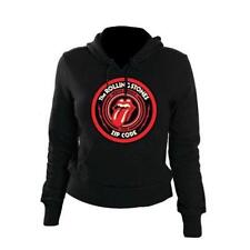 Rolling Stones - Zc15 Circle Logo  -  Hoodie - WOMANS - SIZE M - NEW