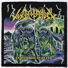 TOXIC HOLOCAUST PATCH / SPEED-THRASH-BLACK-DEATH METAL