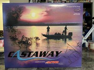 Action Castaway Dale Earnhardt Jr. #8 D.M.P. 2003 Nitro Boat & Trailer