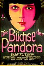 PANDORA'S BOX Movie POSTER 11x17 German Louise Brooks Fritz Kortner Francis