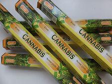 20 Stück Tulasi Cannabis - Räucherstäbchen - incense sticks
