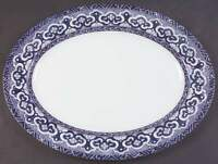 "Ralph Lauren EMPIRE 15 3/4"" Oval Serving Platter 321974"