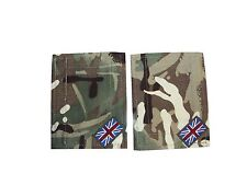 BRITISH ARMY - MTP BLANKING PATCHES WITH UNION JACKS - PAIR - GRADE 1 - RL297