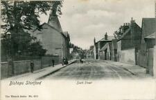 PRINTED POSTCARD OF SOUTH STREET, BISHOPS STORTFORD, HERTFORDSHIRE BY WRENCH