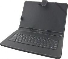 """Micro USB Tastatur Tasche Hülle Cover für 10.1"""" Zoll Tablet. Rechnung mit MwSt."""