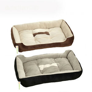 6 Sizes House Pet Beds Plus Size Dogs Fashion Soft Dog House For Large Pets Cats