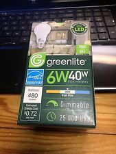 Greenlite Led 6W (40w Replacement) Dimmable new in pack