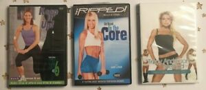 Fitness - work out DVDs Mixed Lot of 3 Dance Cardio, Core & Maintenance - Excel