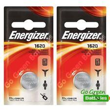 2 X Energizer 1620 Cr1620 3v de litio moneda batería de dl1620 kcr1620, br1620
