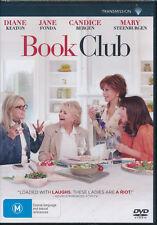 Book Club DVD NEW Region 4 Diane Keaton Jane Fonda Candice Bergen