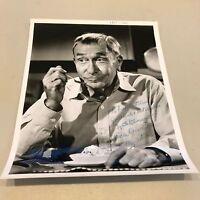 1960's  William Demarest Uncle Charlie Signed Autographed 8x10 Photo JSA COA