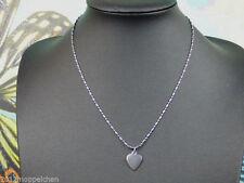 Gemischte Modeschmuck-Halsketten & -Anhänger aus Edelstahl mit Herz-Themen
