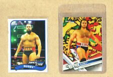 WWE-Rusev-2 Card Lot-2018 Topps Heritage+2017 Topps Base-Mint