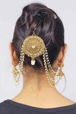 36 Latest Pakistani Matha Patti Pearl Stone Indian Maang Tikka Bridal Head Chain