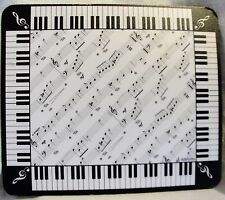 PIANO KEYBOARD MUSIC NOTE MOUSE PAD