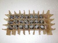 4x 6N8S = 1578 = 6SN7 (Foton) Vintage Double Triode Tubes / NOS