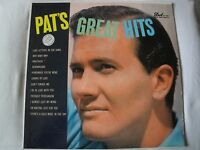 PAT BOONE PAT'S GREAT HITS VINYL LP 1957 DOT RECORDS DLP-3071, MONO EX