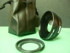 KAW BK 52mm 0.45X Wide-Angle Lens+Adapter Ring For Fujifilm Fuji X10 X20 X30