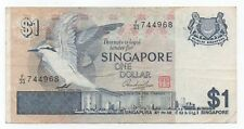 SINGAPORE $1 Bird Series ND1976 Circulated F-VF condition