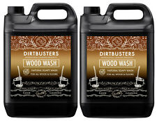 Dirtbusters Eco Wood Floor Cleaner Soapy Solution For All Wooden Cleaning 2 x 5L