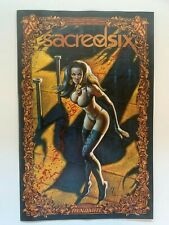 Sacred Six #1 Mark Texeira Icon 1:50 Variant Dynamite - Auction 2
