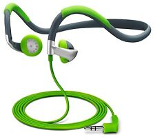 Universal Sports Rugged Headphones 3.5mm Neckband Perfect for Running Gym Yoga