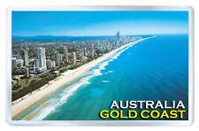 GOLD COAST AUSTRALIA FRIDGE MAGNET SOUVENIR IMAN NEVERA