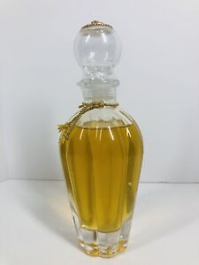Lady Primrose Bathing Gel Crystal Decanter Royal Extract 8 oz, Gold Bee NEW SEAL