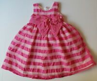 Isobella and Chloe Pink, Tulle Baby Girl Dress Size 12 Months