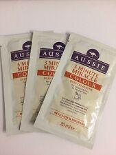 6 X 20ml Aussie 3 Minute Miracle Colour Deep Treatment Sachets