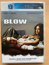 Blow DVD 2001 True Life George Jung Drug Dealer Crime Drama Region 1