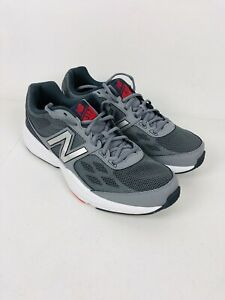 New Balance Men's MX517RB1 Athletic Training Shoe Grey Red White US 11.5 D New