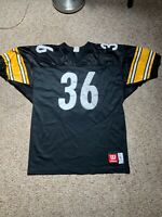Jerome Bettis Pittsburgh Steelers Wilson Jersey Sz 50 XL The Bus Vintage Sewn