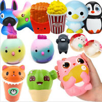 Big Jumbo Slow Rising Scented Squeeze Toy Reliever Stress Present Toys