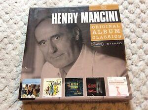 Henry Mancini - Original Album Classics - 5 x Album CD Set