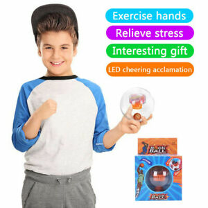Creative Electronic Basketball Game Light Sounds Rock Stress Relief Fidget Ball