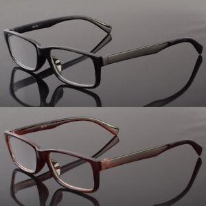 New Men Rectangular Full Frame Reader Reading Glasses Sophisticate Look