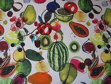 Designers Guild Curtain Fabric 'manaos' 2.1 Metres 210cm Perroquet 100 Cotton