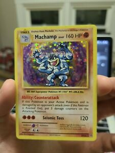 Pokémon TCG - MACHAMP - HOLO RARE - 59/108 NM MINT EVOLUTIONS