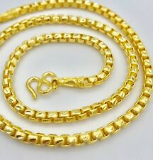 Chain Gold Necklace 22K 23K 24K THAI BAHT GOLD GP 26 inch 84 Grams Jewelry 6 MM