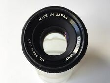 Contax Fit - Yashica 50mm F1.7 Manual Focus Prime Lens
