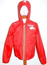 Genuine New Abarth Kappa Mens Rain Coat Red Large 59230616